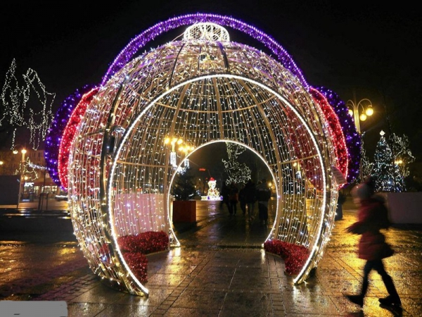 Beautiful outdoor decoration 3d motif large christmas ball light sdsdssdsd mozeypictures Gallery